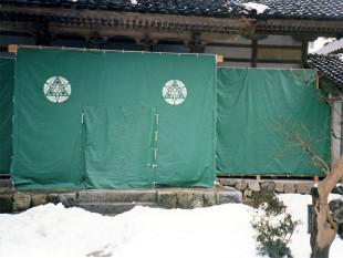 雪囲いテント