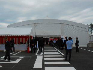 道の駅のと千里浜15m×15mテント